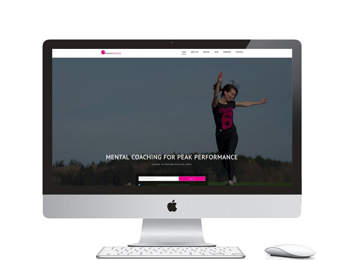 Realizzazione sito web per MENTAL COACHING