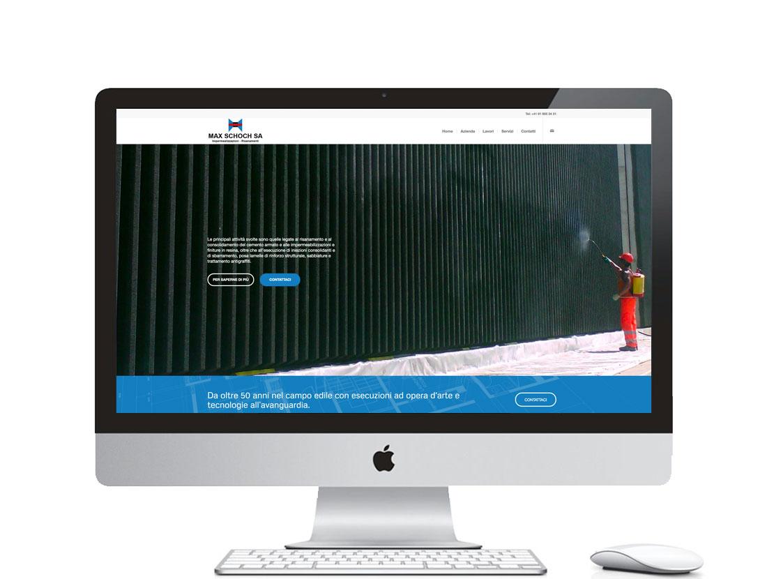 sito internet per azienda svizzera che opera nel campo edile