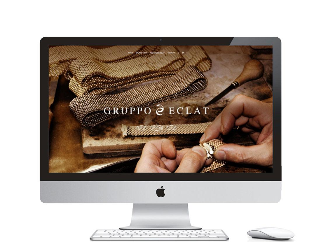 sito internet per azienda di gioielli