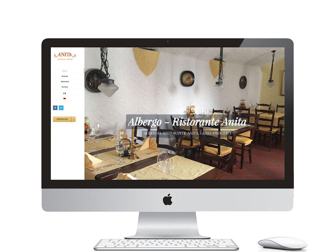 Realizzazione sito internet per sito web per ristorante in Svizzera