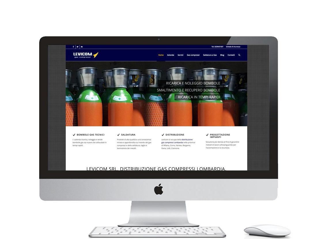 Realizzazione sito internet per azienda di gas tecnici e materiali per la saldatura