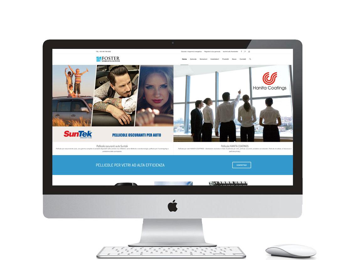 Realizzazione sito internet per azienda leader di pellicole per vetri - Padova