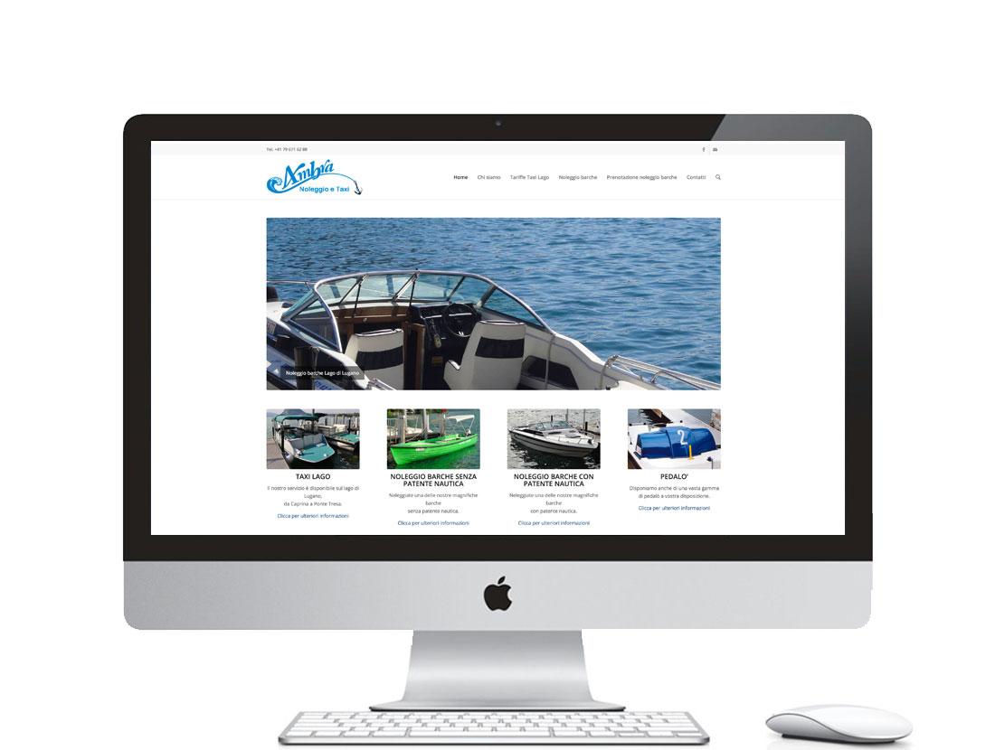 sito internet per noleggio barche a Lugano