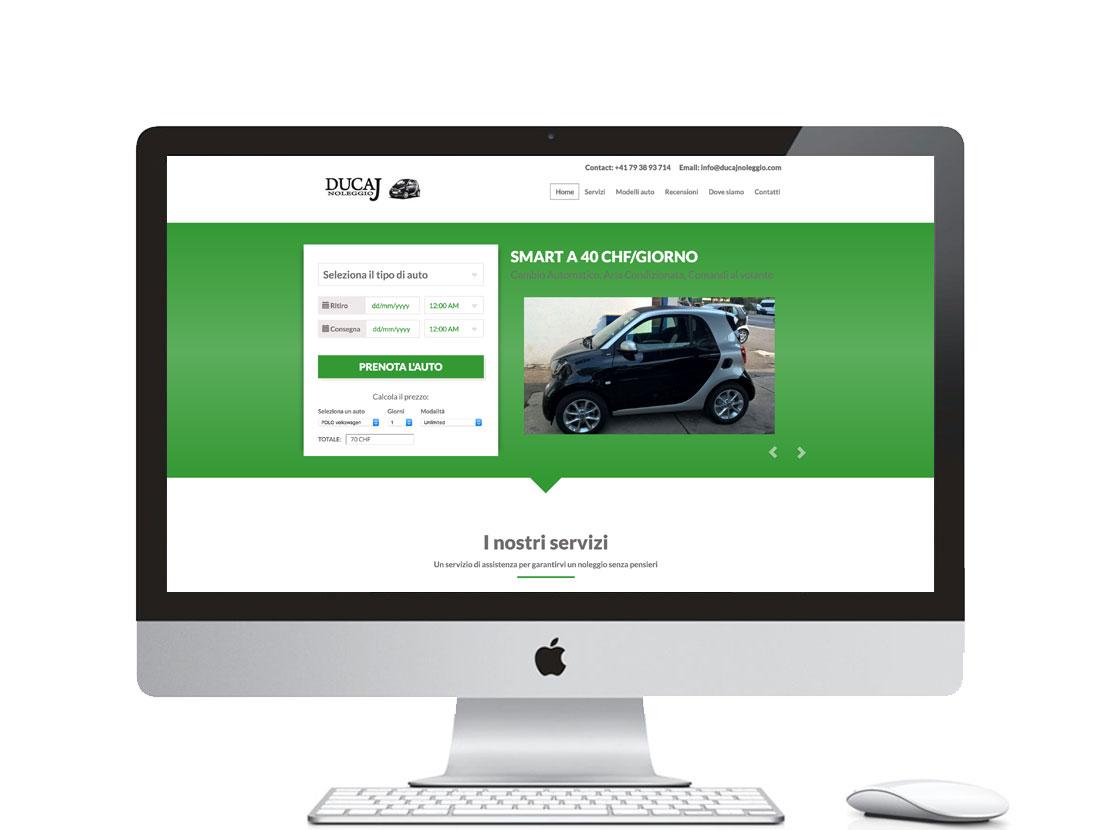 sito web per noleggio auto