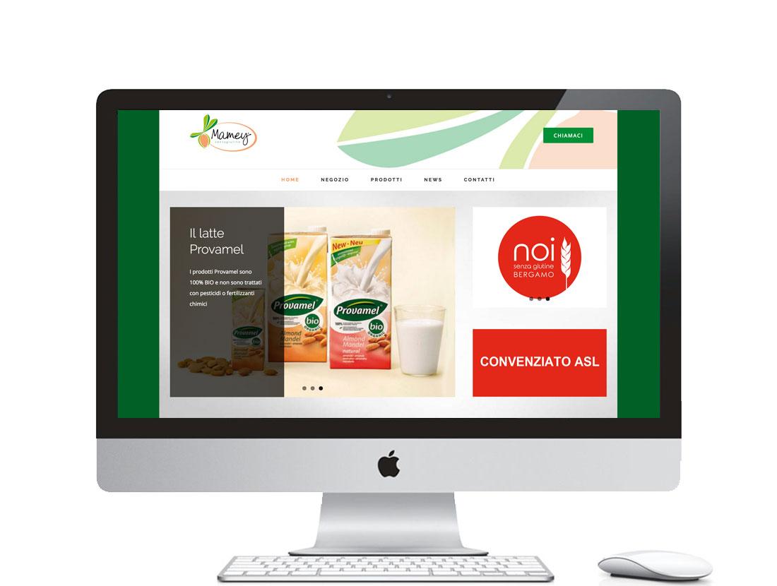 sito web per negozio alimenti