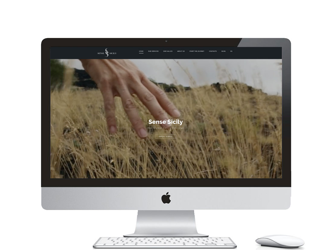 sito internet per SenseSicily